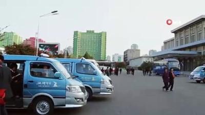 - Kuzey Kore lideri Kim füze denemesini izledi