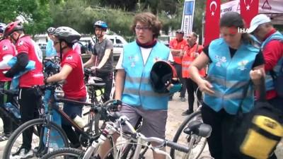 Dünya El Hijyeni Günü'nde bisiklet turu