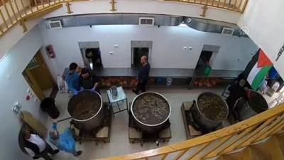 TİKA'nın restore ettiği tarihi imarethanede ramazan geleneği sürüyor - EL-HALİL