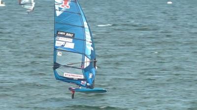 Japonya'da dünya rüzgar sörfü yarışmaları yapıldı