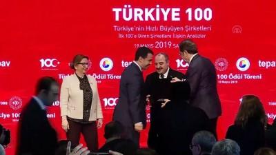 Türkiye'nin En Hızlı Büyüyen 100 Şirketi Ödül Töreni - SAMSUN