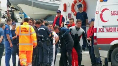 Denizde facia...Fırtına çıkınca yüzerek yardım istemeye gitti, cesedi bulundu