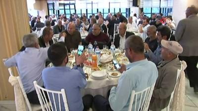 CHP Genel Başkanı Kemal Kılıçdaroğlu, milletvekilleri ve Belediye Başkanları Ankara Minibüsçüler Odası iftarında buluştu