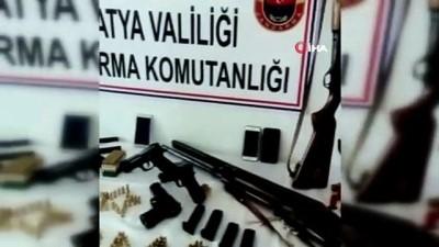 Malatya'da silah kaçakçılığı operasyonu: 5 gözaltı