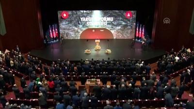 Cumhurbaşkanı Erdoğan: 'Adaletin küçüldüğü yerde zulüm büyüyor demektir' - ANKARA