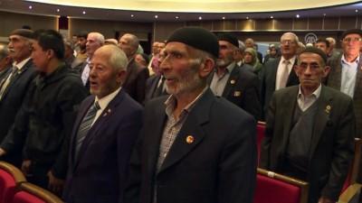Erzurum'da 166 Kıbrıs gazisine madalya verildi - ERZURUM