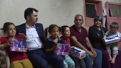 Çevre ve Şehircilik Bakanı Kurum, Yeşilbayır Mahallesinde ev ziyaretinde bulundu - ANKARA