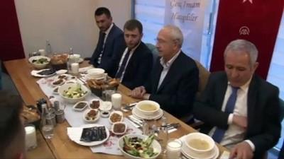 Kılıçdaroğlu imam hatiplilerle iftar yaptı - ANKARA