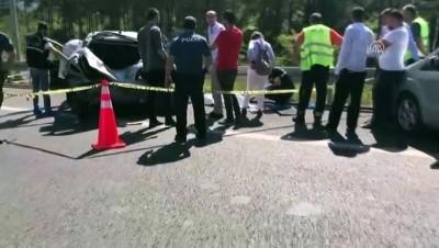 Ümraniye'de trafik kazası: 1 ölü, 8 yaralı (3) - İSTANBUL
