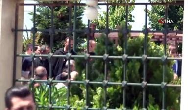 Cumhurbaşkanı Erdoğan, Cuma namazını Hz. Ali Camii'nde kıldı