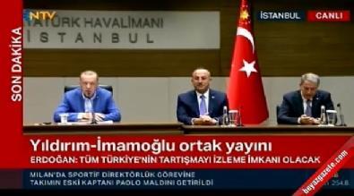 Cumhurbaşkanı Erdoğan'dan net mesaj: Sessiz kalmayız
