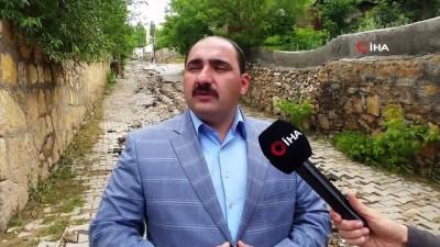 Sivas'ta yaşanan sel sonrası hasar tespit çalışmaları sürüyor