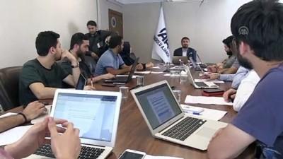 AA'nın 'Ajans Haberciliği' eğitimlerinde atölye çalışmaları başladı (2) - ANKARA
