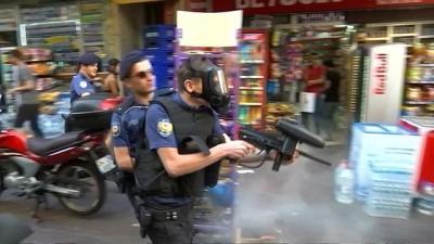 İstanbul'da onur yürüyüşüne biber gazlı müdahale