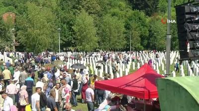- Kimliği belirlenen 33 Srebrenitsa kurbanı toprağa veriliyor