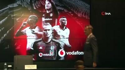 Beşiktaş forma göğüs sponsorluk sözleşmesini 2 yıl uzattı
