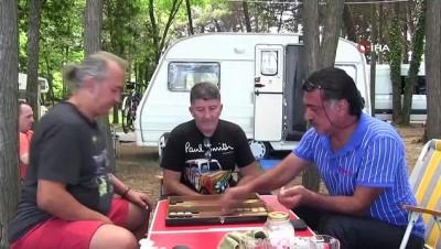 Karadeniz'de karavan turizmi gelişiyor