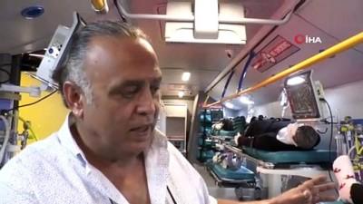 Dünya'nın ilk hastane otobüsü tanıtıldı