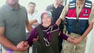 Ormanda kaybolan yaşlı kadın bulundu - SİVAS