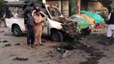 - Pakistan'da patlama: 4 ölü, 20 yaralı