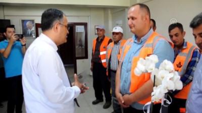 Para dolu çantayı sahibine teslim eden işçi ödüllendirildi - NEVŞEHİR