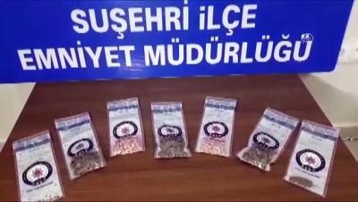 Suşehri'nde uyuşturucu operasyonu - SİVAS