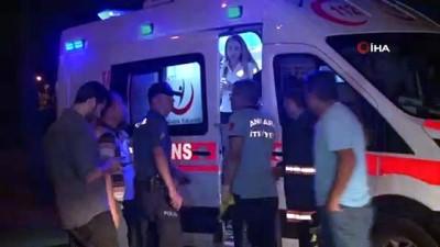 Başkent'te hızını alamayan otomobil kamyonete arkadan çarptı: 1 ağır yaralı
