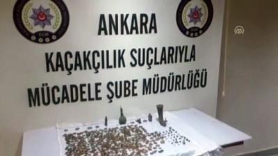 Tarihi eser kaçakçıları yakalandı - ANKARA