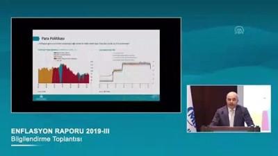 Merkez Bankası Başkanı Uysal: 'Tüketici enflasyonu ikinci çeyrekte yüzde 15,7'ye geriledi' - ANKARA