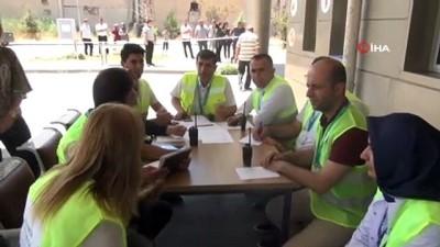 Diyarbakır'da gerçeği aratmayan KBRN sızıntısı tatbikatı