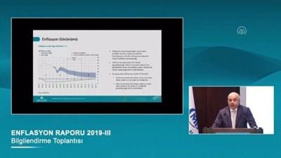TCMB Başkanı Uysal: 'Enflasyonun 2019 sonunda yüzde 13,9 olacağını öngörüyoruz' - ANKARA