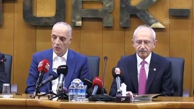 Türk-İş Genel Başkanı Atalay - Kıdem tazminatı ve toplu görüşmeler - ANKARA