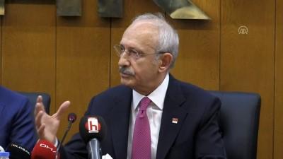 Kılıçdaroğlu: 'Türk-İş'in varlığı demokrasimizin varlığı gibidir' - ANKARA