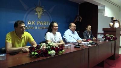 AK Parti Edirne İl Başkanı Akmeşe: 'Bu, Edirne halkına yapılan bir zulümdür' - EDİRNE