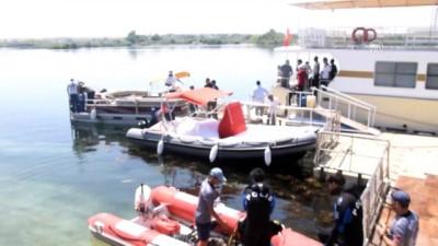 Fırat Nehri'nde kaybolan kişiyi arama çalışmaları sürüyor - ELAZIĞ