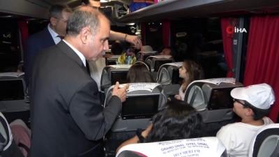 Bayramın son gününde 43 ilin geçiş noktası Kırıkkale'de trafik yoğunluğu başladı