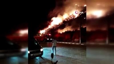 Xanthos Antik Kentini tehdit eden yangın söndürüldü