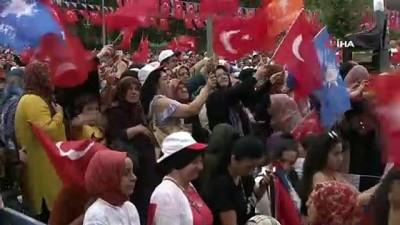 Cumhurbaşkanı Erdoğan:'Çarpık siyasi anlayışın en başında CHP ile HDP yer alıyor'