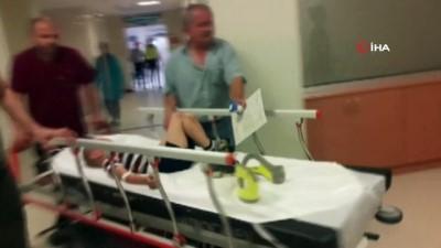 Yola aniden fırlayan 4 yaşındaki çocuğa otomobil çarptı