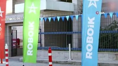 """ROBOİK """"İnsansız ve Otonom Kara Araçları Yarışması"""" finali SSB'de yapıldı"""