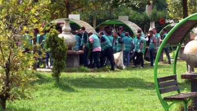 Sakarya'da 100 hükümlü çevre temizliği yaptı