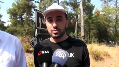 Beşiktaş taraftarlarından orman yangınlarına bidonlu önlem