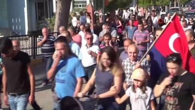 Çocuk ve kadın istismarı ve İremsu için düdüklü protesto
