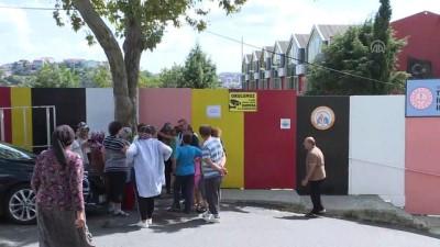 Sarıyer'deki tahliye edilen okul - İSTANBUL
