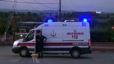 Sakarya'da paraşüt düştü: 2 hafif yaralı