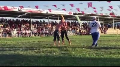 Kel Aliço Yağlı Güreşleri'nin başpehlivanı İsmail Balaban oldu - EDİRNE