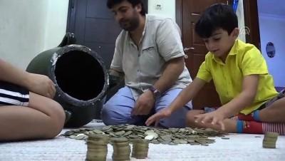 Tasarrufu 'yağ küpü'nde para biriktirerek öğrendiler - SİİRT