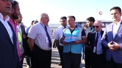 Gümüşhane-Bayburt Havalimanında çalışmalar son sürat devam ediyor