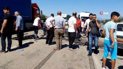 Osmaniye'de zincirleme trafik kazası; 3 ölü, 4 yaralı