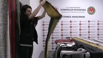 İstanbul Havalimanı'nda yılan derisi operasyonu - İSTANBUL